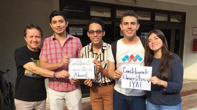 Líderes estudiantiles y profesorales de la Universidad Surcolombiana unen esfuerzos para convocar una Constituyente Universitaria para reformar el Estatuto General de la institución