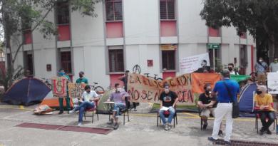 Inició huelga de hambre en la USCO por matrícula cero