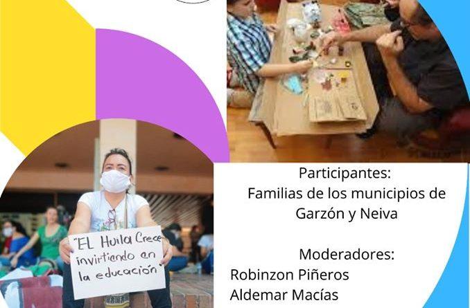 Familias huilenses y educación en tiempos de pandemia