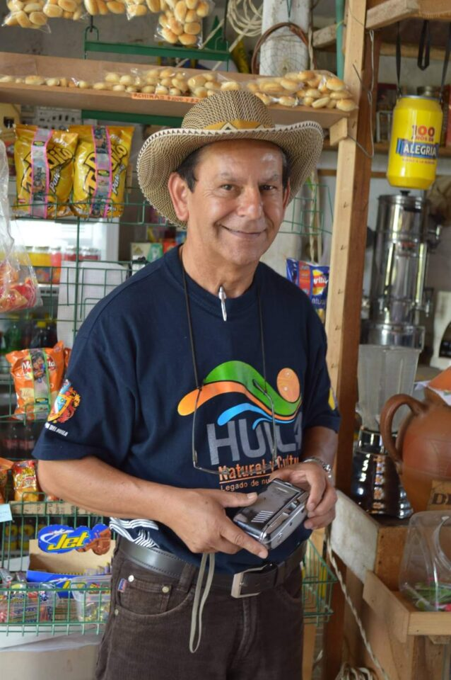 El profesor laboyano Adriano Trujillo, quien falleció recientemente.
